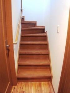 施工例リフォーム階段a