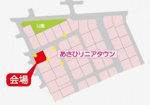モデル拡大地図