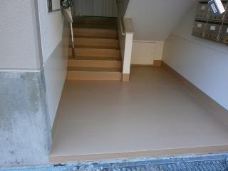 日中団地階段